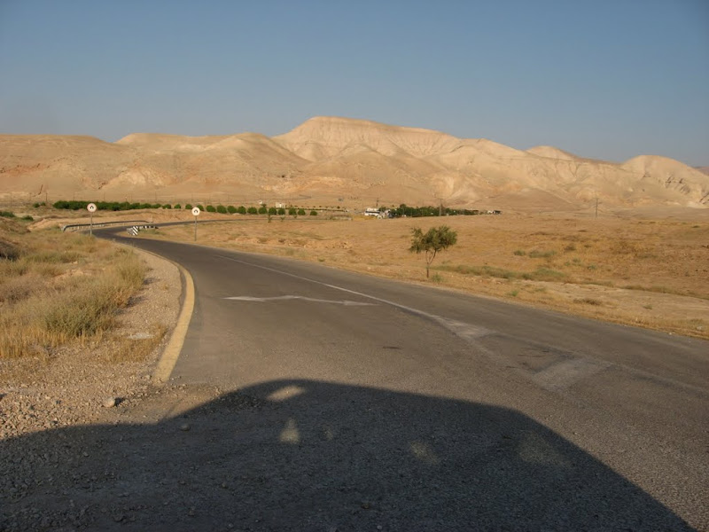 The road leading to Mevoot Yericho NW of Jericho