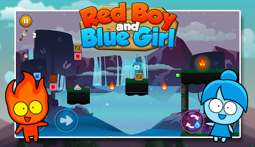 Red boy and Blue girl - Forest Temple Maze ss3