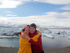 Photo: We finally made it to Jokulsarlon glacier lagoon