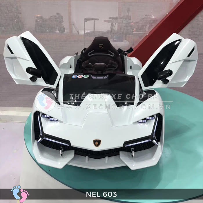 xe ô tô điện trẻ em Lamborghini NEL-603 14