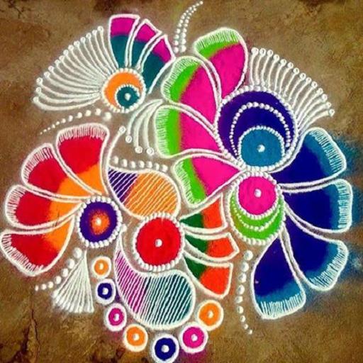 Rangoli Designs Videos