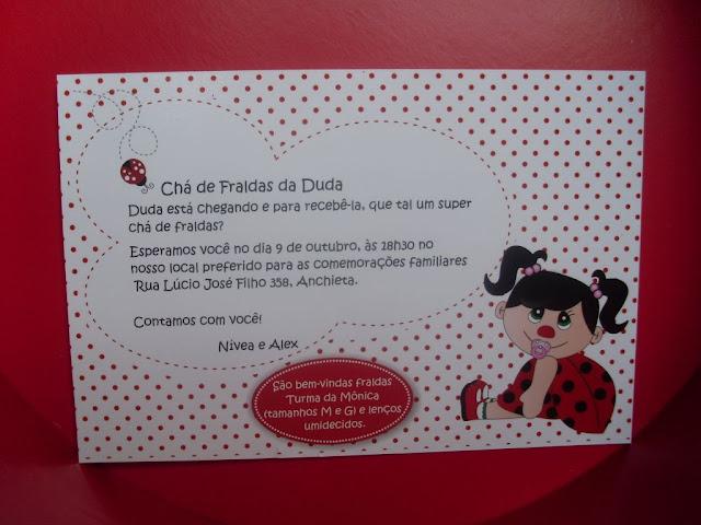 CHÁ DE BEBE DA DUDINHA