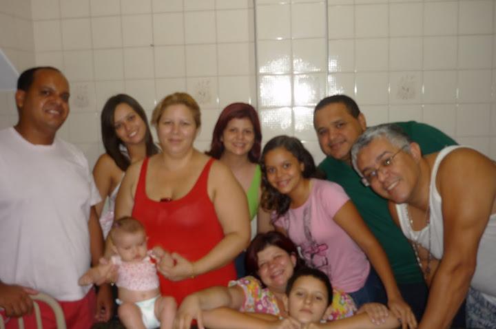 FAMILIA REUNIDA NO MEU 5º MES