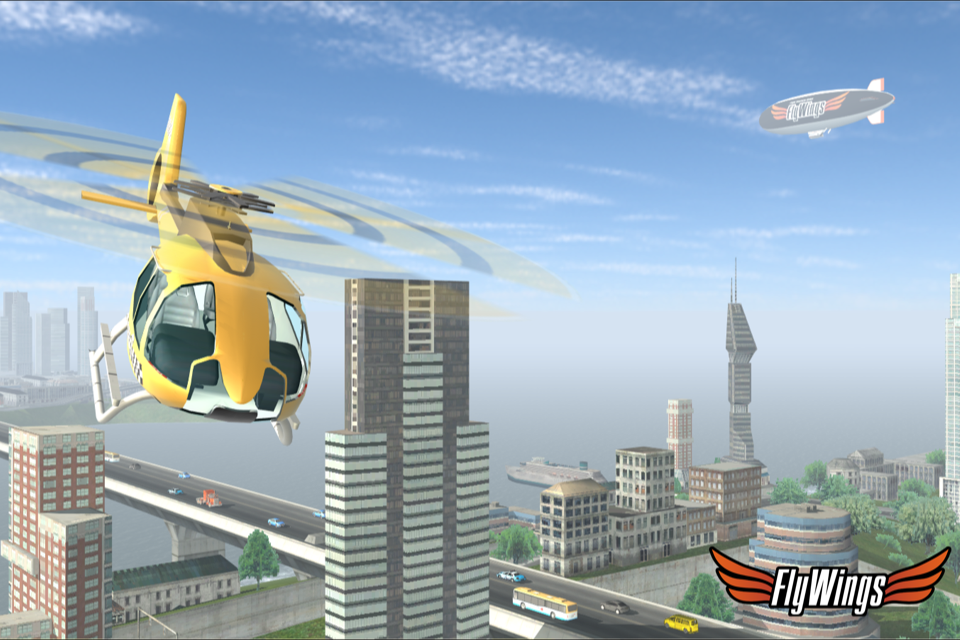 Helicopter Simulator 2015 Free- screenshot