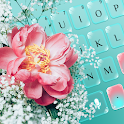 Flower keyboard icon