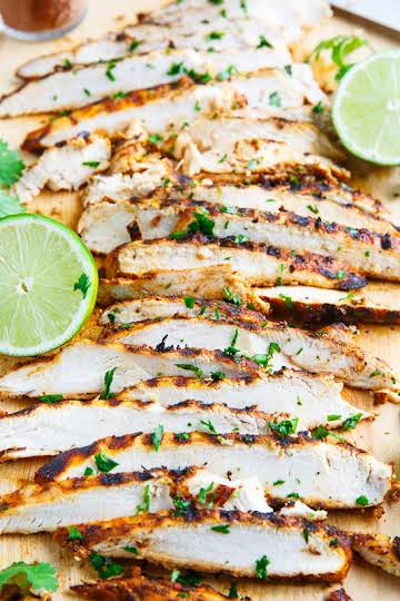 Taco Lime Grilled Chicken Recipe