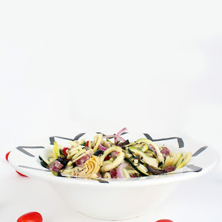 Italian Zucchini Pasta Salad