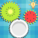 Logic Gear Fruit - Match 3 Connect Gear Wheels icon