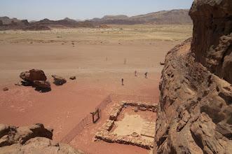 Photo: Templo de diino Hanhor - la salomonaj kolonegoj, Timna