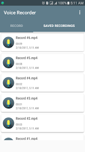Voice Recorder Audio Recording - náhled