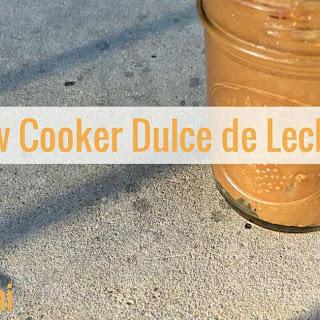Slow Cooker Dulce de Leche #SecretRecipeClub