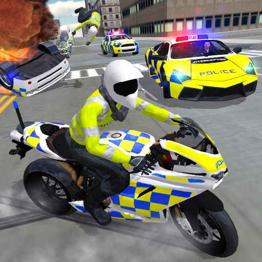 Police Car Driving - Motorbike Riding