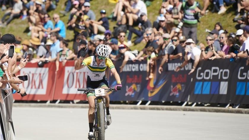 La ciclista de Primaflor-Mondraker-XSauce lo dio todo en la prueba.