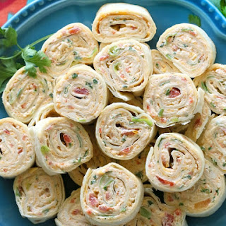 Chicken Enchilada Roll Ups.