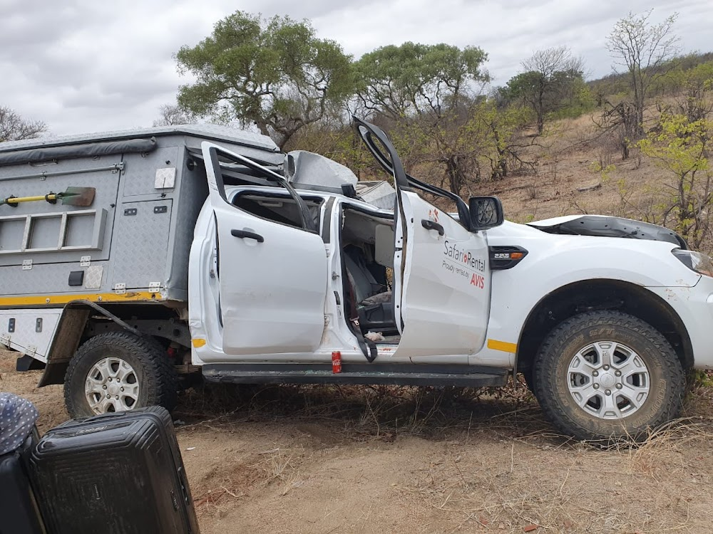 Four injured as giraffe causes Kruger Park accident - TimesLIVE