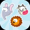 Animals Memory game (No Ads) icon