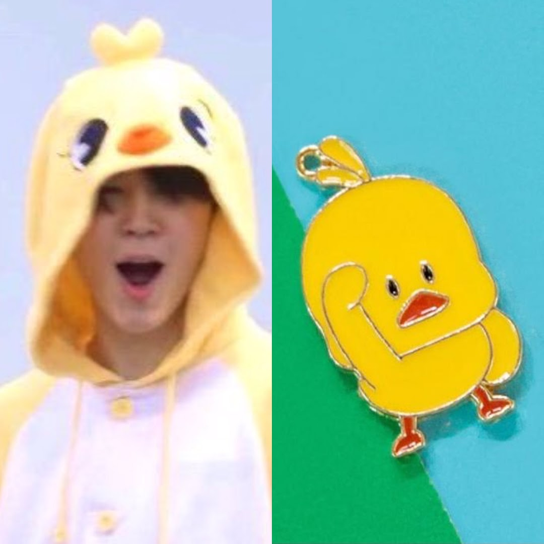 Jimin cute character chimmy
