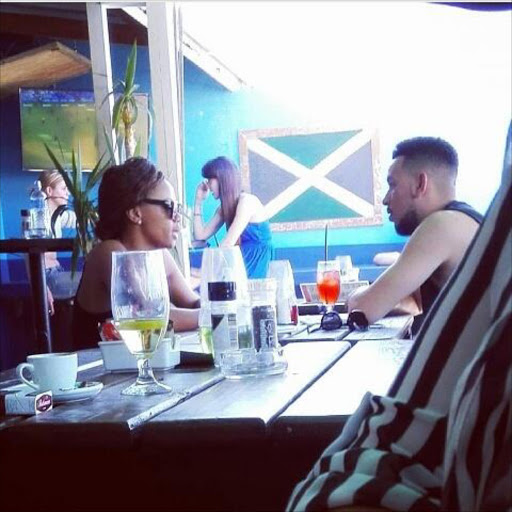 Rer Aka And Bonang Matheba On A Date In Cape Town