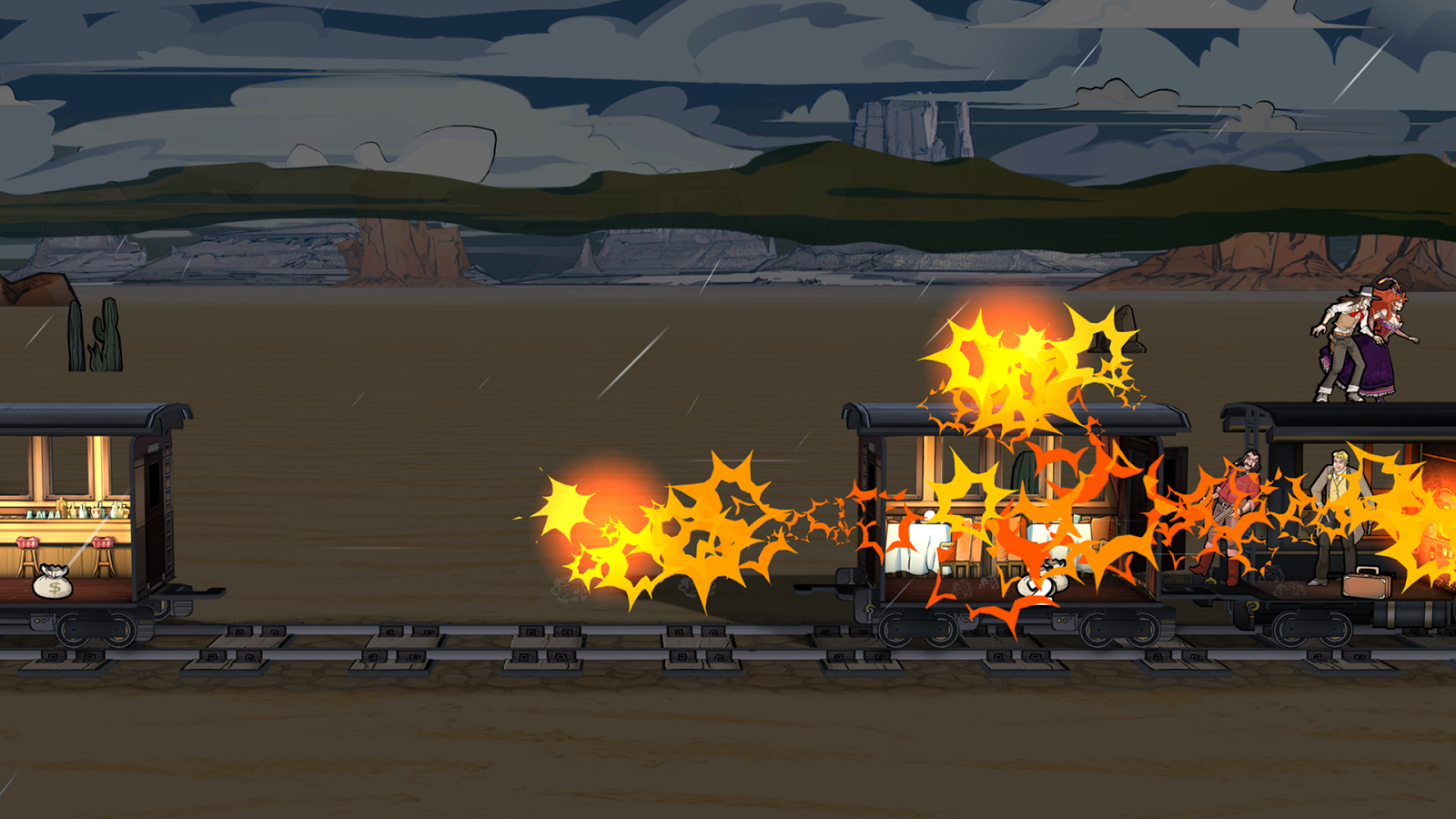 Colt Express- screenshot