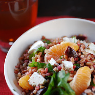 Farro, Beet & Citrus Salad w/ Goat Cheese