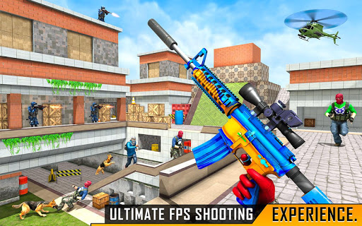 Secret Agent FPS Shooting - Counter Terrorist Game android2mod screenshots 14