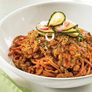Dan Dan Veggie Noodles.
