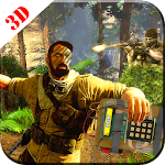 Commando sniper war Death Game Icon