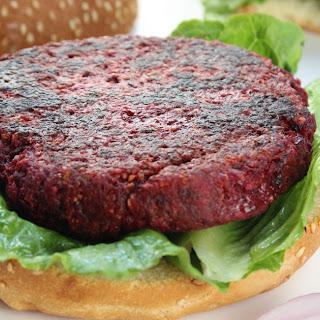 Vegan Beet Burgers.