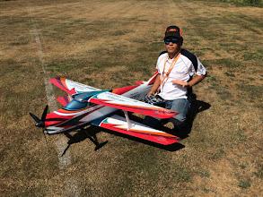 Photo: Michi Akimoto and his Oxai Acuracy