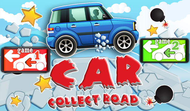 Build a road car- screenshot