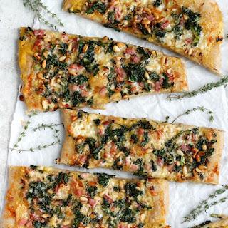 Pancetta, Kale, & Pumpkin Flatbread