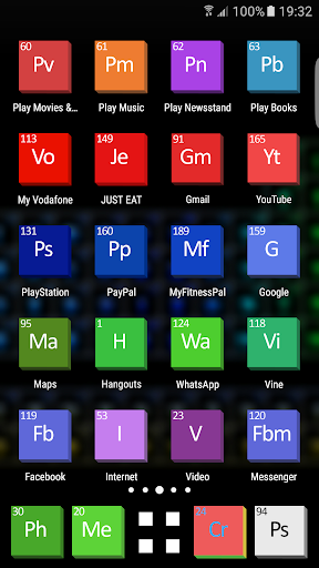 Periodic table theme hd 14 apk by ecstra details periodic table theme hd screenshot 1 periodic table theme hd screenshot 2 urtaz Gallery