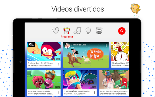 Foto do YouTube Kids