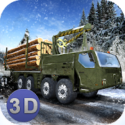 Winter Logging Truck Simulator