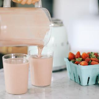 Strawberry Veggie Smoothie.
