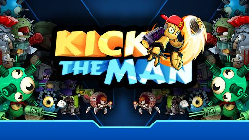 Kick the Man - jeu gratuit d'action platformer  captures d'écran 1