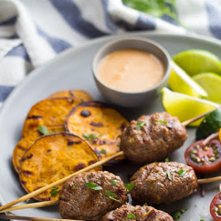 Thai Beef Koftas with Coconut Sauce (30 minutes)