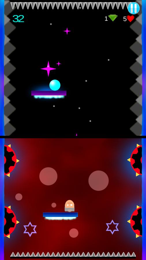Dodge The Spikes - στιγμιότυπο οθόνης