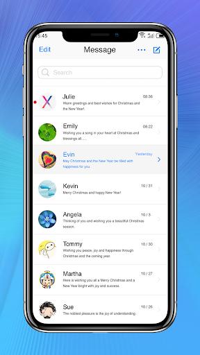 Messaging+ OS11 Cute Emoji 2.8 screenshots 1