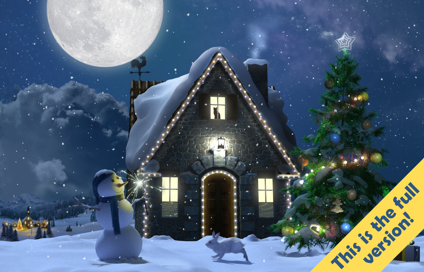 christmas moon free android apps on google play