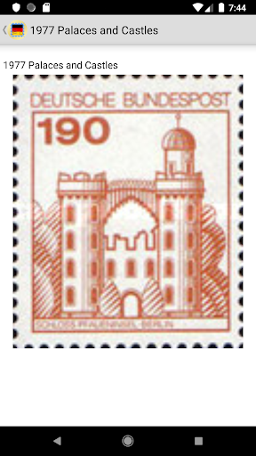 Stamps of Germany screenshot 16
