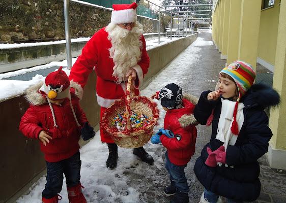 L'incontro con Babbo Natale di FLORANS