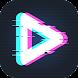 90s - Glitch VHS&Vaporwaveビデオエフェクトエディタ - Androidアプリ