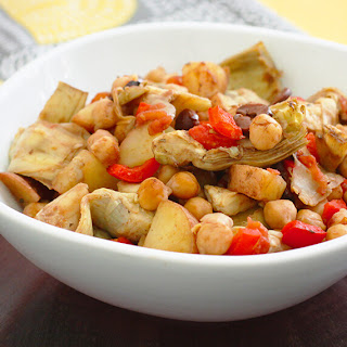 Bliss in a Dish (Chickpea and Artichoke One-Pot Wonder).