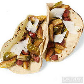Spicy Sprouts Tacos