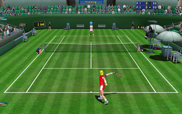 Tennis elbow 2011 game view