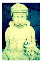 Photo: Porch buddha