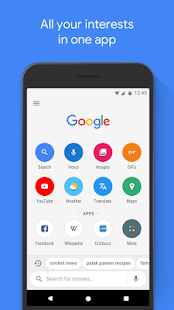 Google Go: A fast, easy, fun way to search- screenshot thumbnail