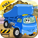 Construction Truck Games For Toddler Kids 2+ icon