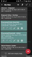 Screenshot of GeoTracker - GPS tracker